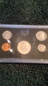 Five assorted coin collection