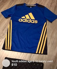Youth adidas age 8-10 barely used London, N5W 1E8