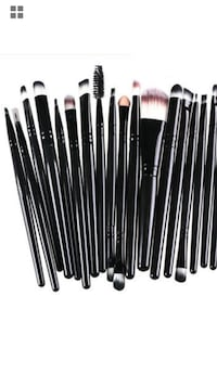 20 pieces Brand New Makeup brushes  Markham, L3S 3Y9