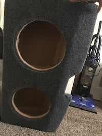 Two 12 subwoofer box for Dodge Charger  $90