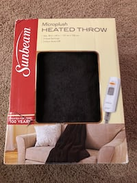 New in Box heated throw Baltimore, 21220