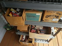 assorted cardboard boxes