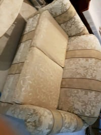 brown and beige floral fabric 3-seat sofa Vancouver, V5R 2P9