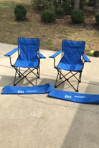 Two Sport Folding Chairs