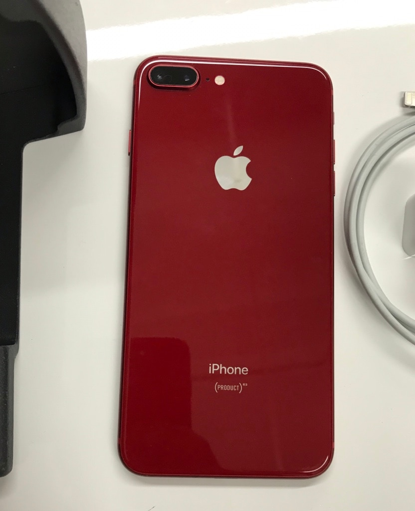 64Gb RED iPhone 8 Plus(8+) , Factory Unlocked.