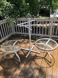 Patio tables & towel dryer Rockville, 20850