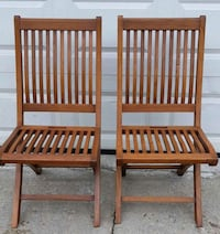 Foldable Wooden Chairs Toronto, M6P 3V4