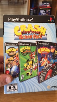 Ps2 crash bandicoot  Summerville, 29483