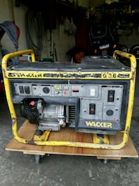 Yellow and black portable generator Vaughan, L4J 1A5