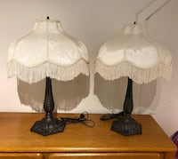 Set of two Vintage Victorian-Style Lamp Laval, H7W 1E8