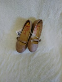 pair of brown leather mary jane flats Greenville, 29609