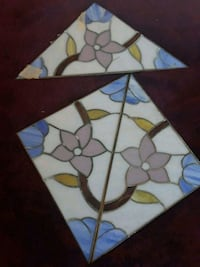 Three lead stain glass priced vintage San Francisco, 94112