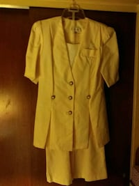 Pale yellow jacket and skirt Baltimore, 21207