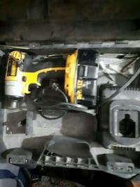 black and yellow Dewalt power drill Edmonton