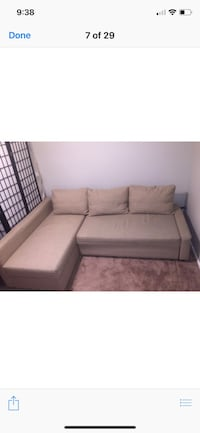IKEA sofa-bed, beige color, good condition. New it cost $900. Manassas Park, 20111