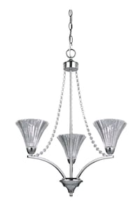 Cora 3 Light Crystal Chandelier - Brand New Mississauga, L5N 8K8
