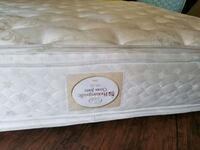 King mattress pillowtop Sealy. Free delivery.  Edmonton, T5T 6H6
