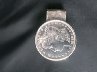 1886 Silver Dollar Money Clip Clearwater, 33763
