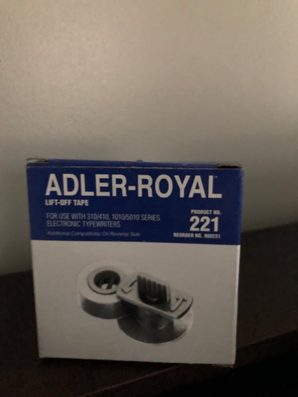 TA Adler Royal Typewriter 3