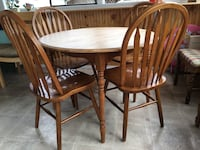 Dining Table with Chairs  Abbotsford, V2S 1H1