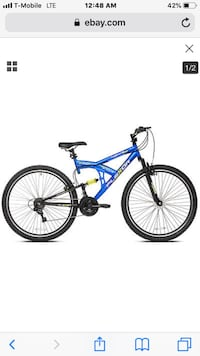 blue and black full-suspension bike Washington, 20018