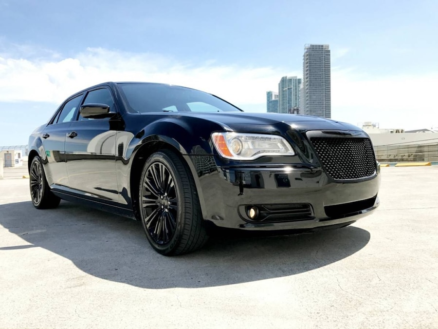 used 2012 chrysler 300 limited edition in miami. Black Bedroom Furniture Sets. Home Design Ideas