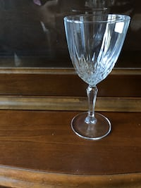 Real crystal wine glass  Toronto, M3B 3A1