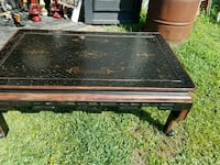 black and brown wooden table Myrtle Beach, 29588