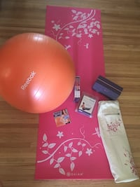 Gaiam, Yoga, Mat, Bag, Travel, Nike, Block, Punk, DVD, Work out, Pilates, Bands, Stretch, Reebok, Ball, Exercise, In shape, Healthy, Home, Floral Robbinsdale, 55422
