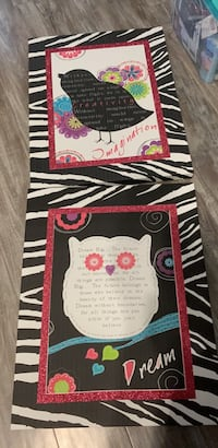 Owl and Bird Canvases