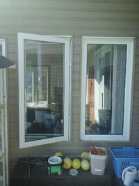 Casement windows 55 x 27 inches Stirling