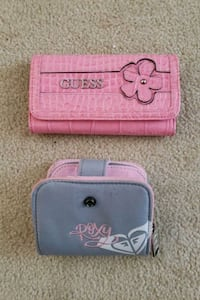 Pink Trifold GUESS Wallet,  Gray ROXY Wallet