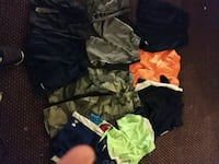 11 pairs of kids nike and under armor shorts Port Arthur, 77642