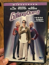 Galaxy Quest Dvd - Tim Allen, Sigourney Weaver, Alan Rickman Bethesda, MD, USA