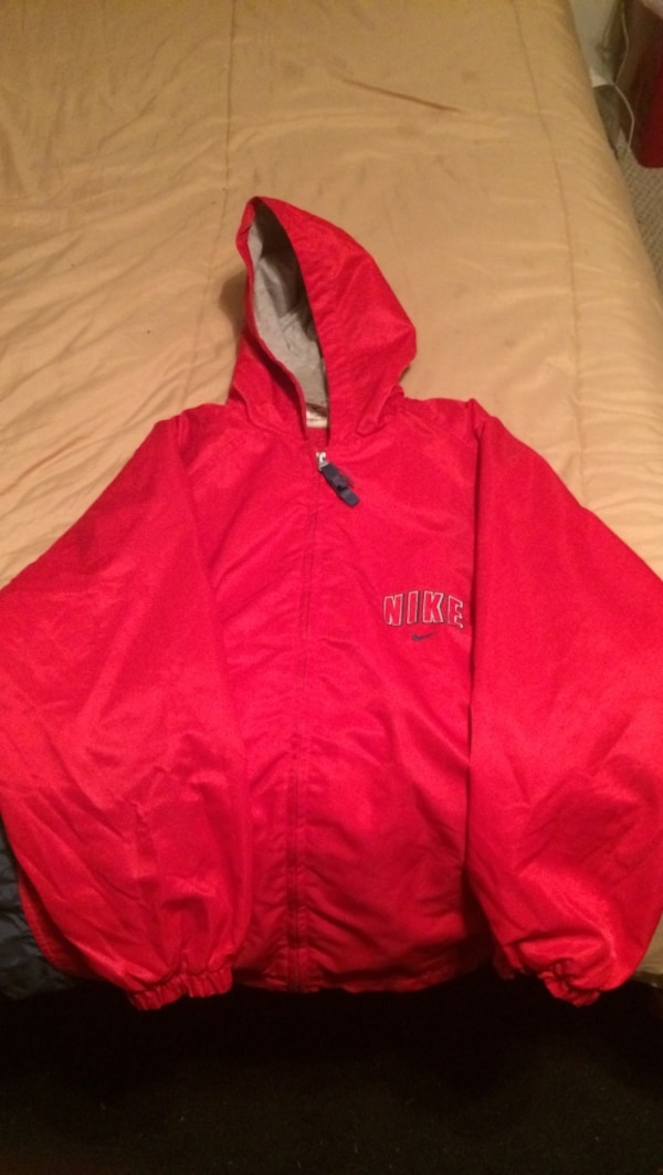 Used Red Nike zip-up hoodie for sale in Dothan - letgo 6350810dc