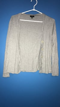 gray button-up cardigan Mississauga, L5L 5H8