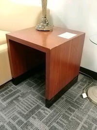Ra brown wooden end table Mississauga