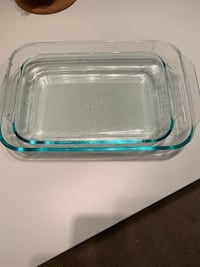 clear glass bowl with lid Oakland, 94610