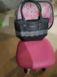 black and gray leather tote bag Bridgeport, 06604