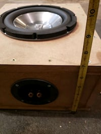 "Infinity  8"" subwoofer in box"