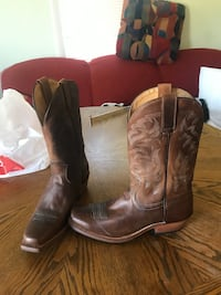 Brand New cowboy boots with reciept Nashville, 37217