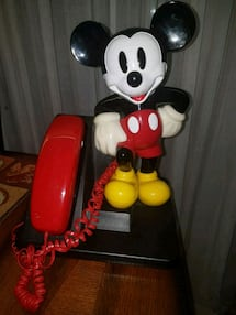 Vintage (1994) Mickey Mouse Phone