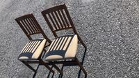 2 Folding chair good condition Allentown, 18109