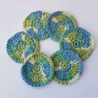 6 Face scrubbies, all cotton, reuseable, eco-friendly Airdrie, T4B 0E4