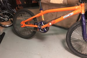 Custom made Haro BMX bike