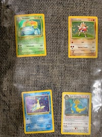 Holographic Pokemon Trading Cards