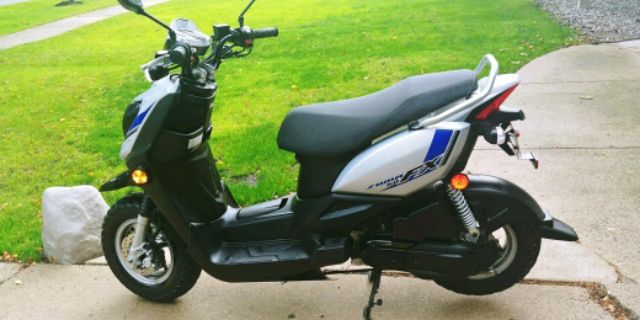 Photo 2017 Yamaha Zuma FX 50cc moped