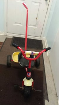 toddler's red and yellow push trike Hamilton, L8W 3J2