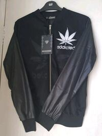 black and white Adidas pullover hoodie Manchester, M8 5AW