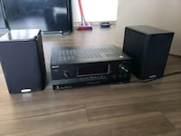 Sony stereo and 2 Polk audio speakers Seattle, 98109